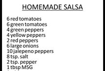 Salsa canning recipes