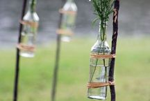 bottles and jars / I am in love with mason jars! / by Sedona Macklin