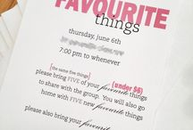 Favourite Things Party Ideas