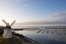 Moulin de la conchette et port de jard sur mer
