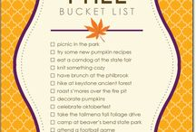 Bucket Lists / by Bobi Hendrickson
