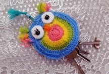key holder crochet