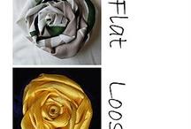 Rose tessuto