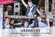 Urban Life 2015 / Découvrez la 1ère collection Best Cut Paris Automne-Hiver. Plus d'infos sur www.best-cut.fr