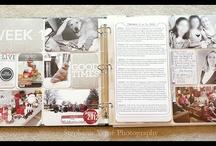 Project Life / Ideias para scrapbook com o método project life