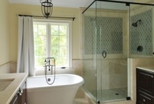 Master bath possibilities / by Sharon Lieberman