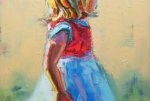Children / Paintings of children