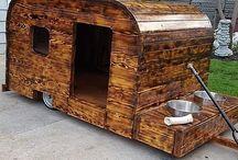 Camping vogn.