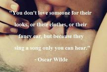 Oscar Wilde & others...quotes I  by people I admire