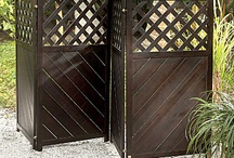 Privacy Please / Ideas on how to create a little backyard privacy using an outdoor privacy fence, outdoor curtains and more! / by Improvements Catalog