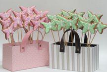 Biscoitos decorados / Arte com açúcar