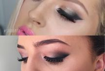 My own make up looks: / Just a board with my personal make up looks that I have created