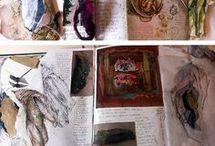 Страницы из альбома для рисования