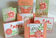 Stampin' Up! - Sets of Greeting Cards / Sets of greeting cards made using Stampin' Up! products.