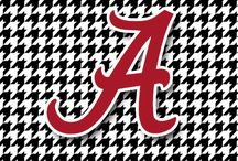 Alabama Crimson Tide / by Julie Potter
