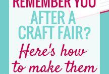 Sew - Ideas, Craft Fairs, etc