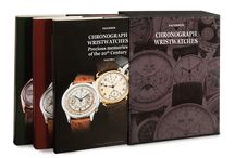 Books: Chronograph Wristwatches / Three books with more than 900 pages to know all chronograph wristwatches. Between the best brands we can find: Audemars Piguet, Breitling, Cartier, Eberhard, Girard Perregaux, Heuer, IWC, Longines, Omega, Patek Philippe, Rolex, Tudor, Ulysse Nardin, Vacheron Constantin, Zenith and much more.  http://www.collectingwatches.com/en/our-editions/product/view/4-books-about-patek-philippe/37-chronograph-wristwatches.html
