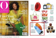 We're Famous!  / We're a French company specializing in unique kitchen tools and accessories unlike any other.  Combining function, quality, and innovative designs, the diverse and expansive collection of products are carefully designed and created to make every kitchen professional, yet fun and fashionably colorful.  Here are snapshots of our spotlights on various TV, magazine and other places showcasing Mastrad products - including Oprah, Dr. Oz and many more!