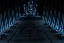 Throne Room-Egyptian Theme