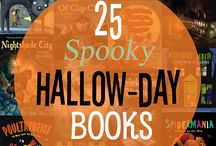 """25 Spooky """"Hallow-day"""" Books! / 25 books to celebrate this All Hallow's Eve."""