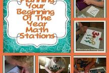 School-Math Stations