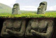 antiche sculture