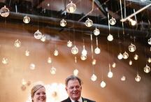 lights / wedding lighting, string lights, hanging lights, candles, installations