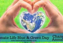 National Donate Life Blue & Green Day Galore