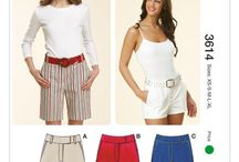 Sewing Patterns I Own - Pants and Shorts