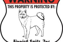 Finnish Spitz Signs and Pictures / Warning and Caution Finnish Spitz Dog Signs. https://www.signswithanattitude.com/finnish-spitz-signs.html