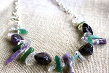 Hand-made Gemstone and Crystal Jewellery / Beautiful stones created by millions of years of changes in the earth turned into unique, original jewellery.