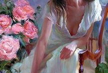 volegov v.leányka rózsával