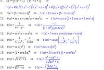 Cuadernos de matemáticas