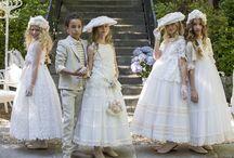 Communion dresses / Trajes y vestidos de comunión. Trajes y vestisod de comunión para niño y niña en Día Mágico by FIMI