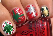 Nails - Christmas Nail Art