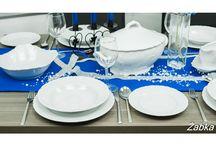 Porcelana - Nowoczesna i klasyczna / Prezentacja różnych stylów, kształtów i dekoracji w porcelanie domowej i użytkowej. Szukasz nowoczesnej porcelany ?  A może klasyczne okrągłe talerze z reliefami ?  Zainspiruj się - serwisy obiadowe, serwisy obiadowo-kawowe znajdziesz w naszym sklepie www.hurtowniaporcelany.pl
