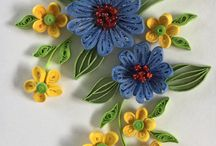 Quilling on cake
