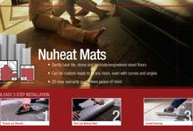 Nuheat / Pre-built like an electric blanket, Nuheat Mat is an electric floor heating system that brings soothing heat to tile, stone, laminate, and engineered wood floors. A cost effective heating solution, Nuheat is inexpensive to install and does not require ductwork or any additional equipment to operate. Whether using Nuheat Custom Mats or Nuheat Standard Mats, Nuheat offers an entirely maintenance-free heating alternative with no cold spots.