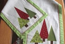 Christmas table runners kari asztali futó