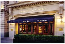 Ralph Lauren Restaurants  / by Ralph Lauren