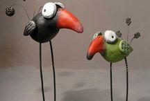 Sculptures .