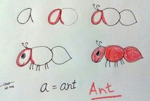 Drawing with letters