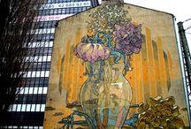 murals/ bilboards/ vintage