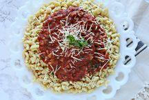 """Marinara-thon"" Red Sauce Recipes - Healthy Pasta Month"