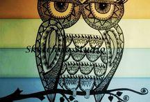 owlove / baykuş aşkı ♡