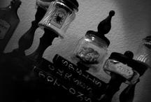 Glass jar crafts / by Lanie Ridgway
