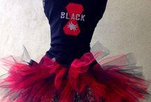 Black Widow runDisney Costume