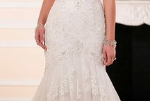 Wedding Dresses (Trumpet) / In this folder you will find ideas and shapes and different lace textures for the Trumpet Style, of all over the world.