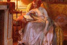 Книги и чтение в живописи