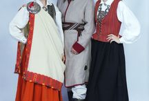 Latvian costumes